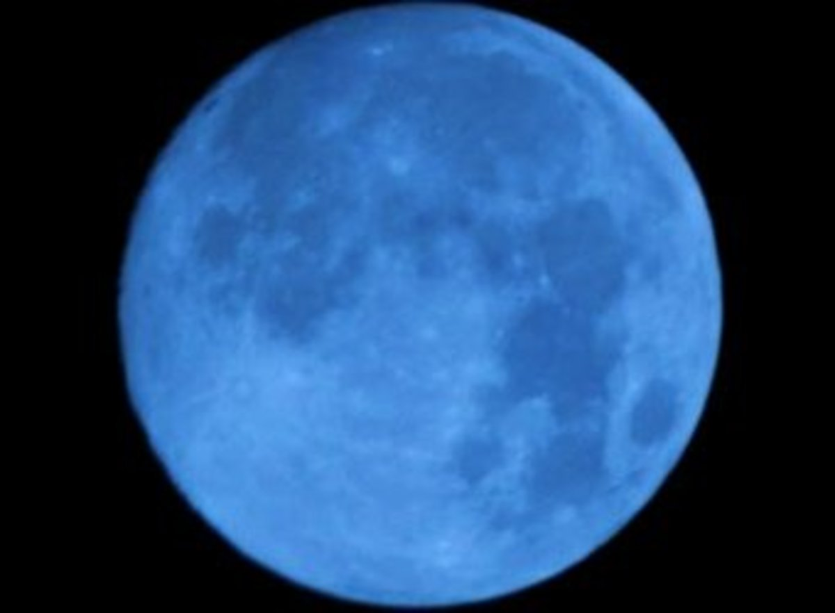 Beautiful Blue Moon photo, used under the Creative Commons 2.0 license