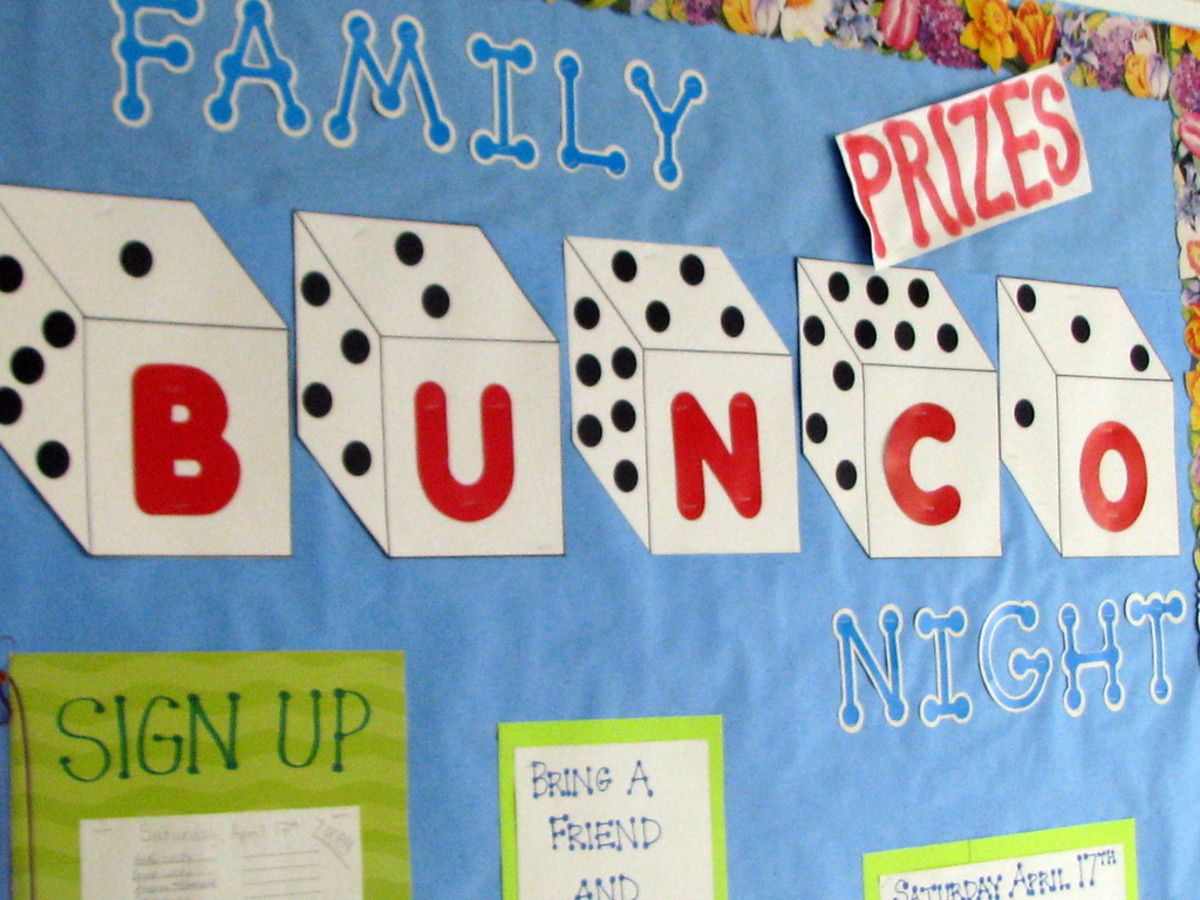 Bunco Night is a fun group activity. Learn how to organize one in this article.