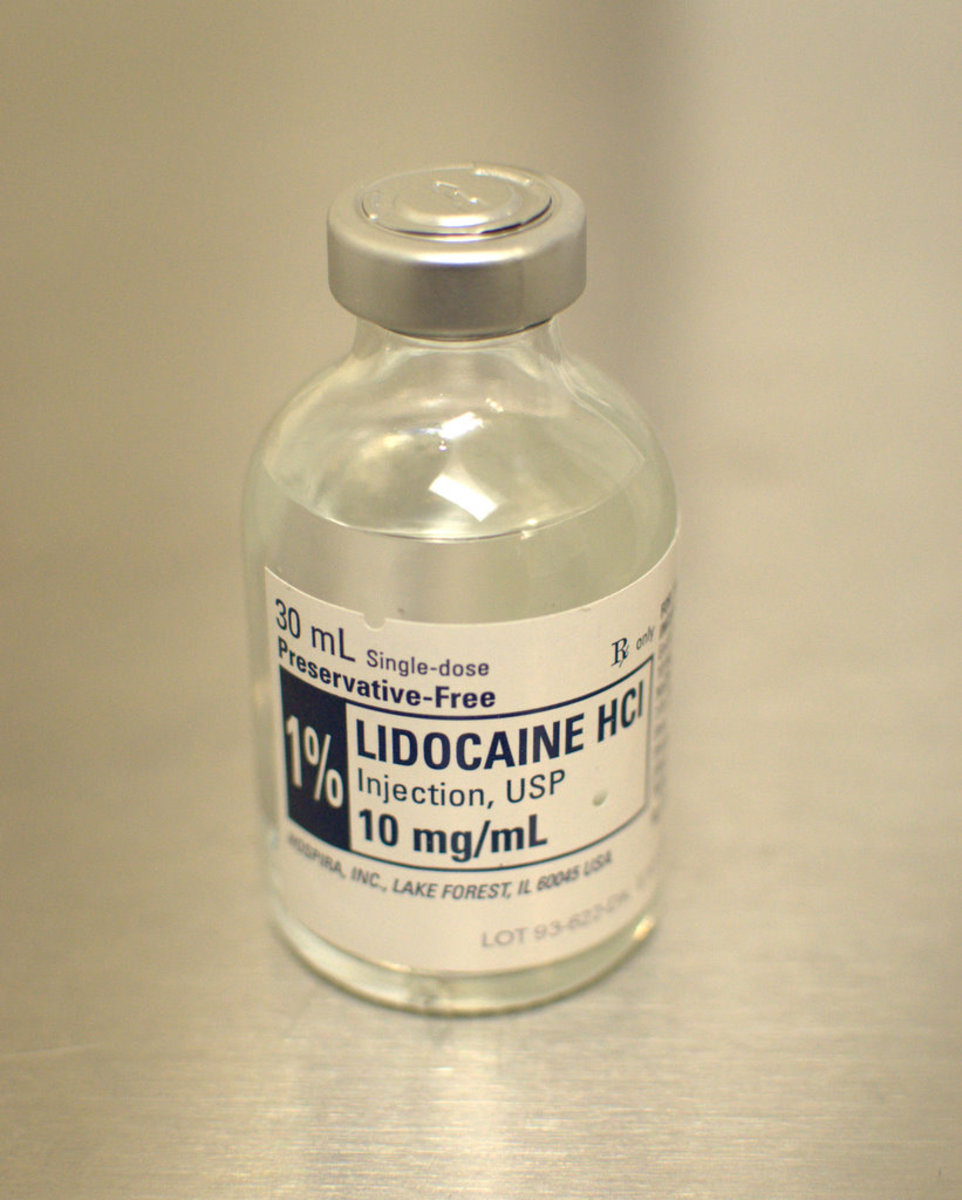 Lidocaine Side Effects and Toxicity