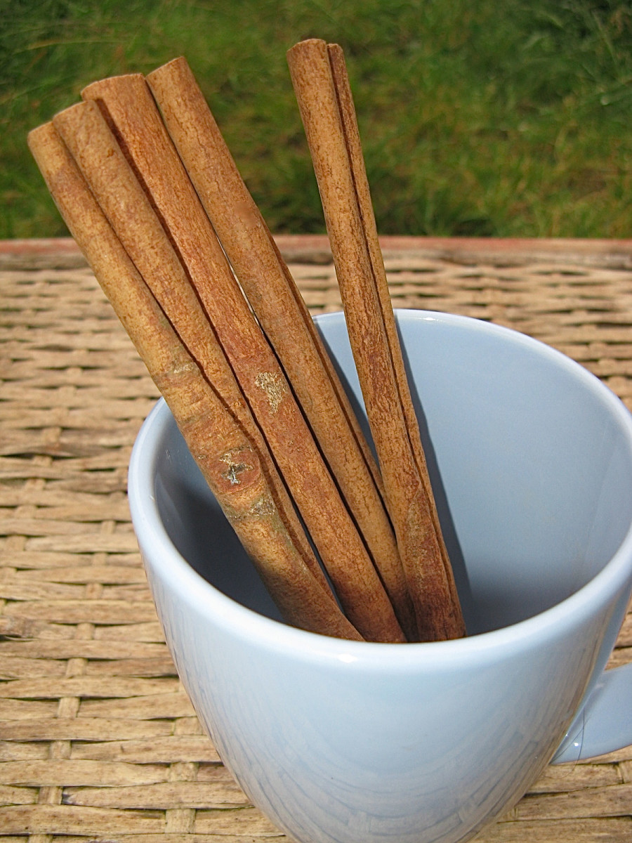 Spices such as cinnamon are healthy and delicious additions to foods.