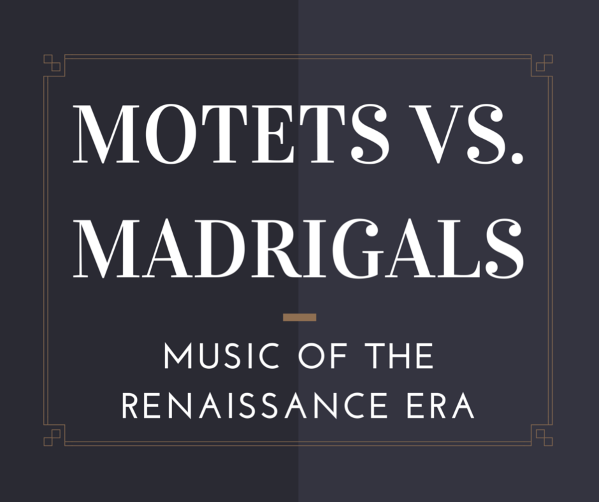 What is the difference between a motet and a madrigal?