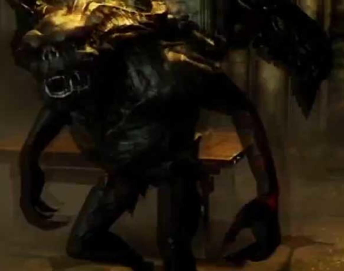 Skyrim Defeat Gargoyles in Volkihar Ruins