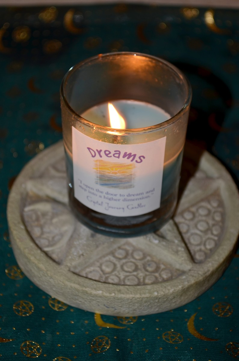 Using a reiki charged dream candle can help summon your spirit guide to your dreams.