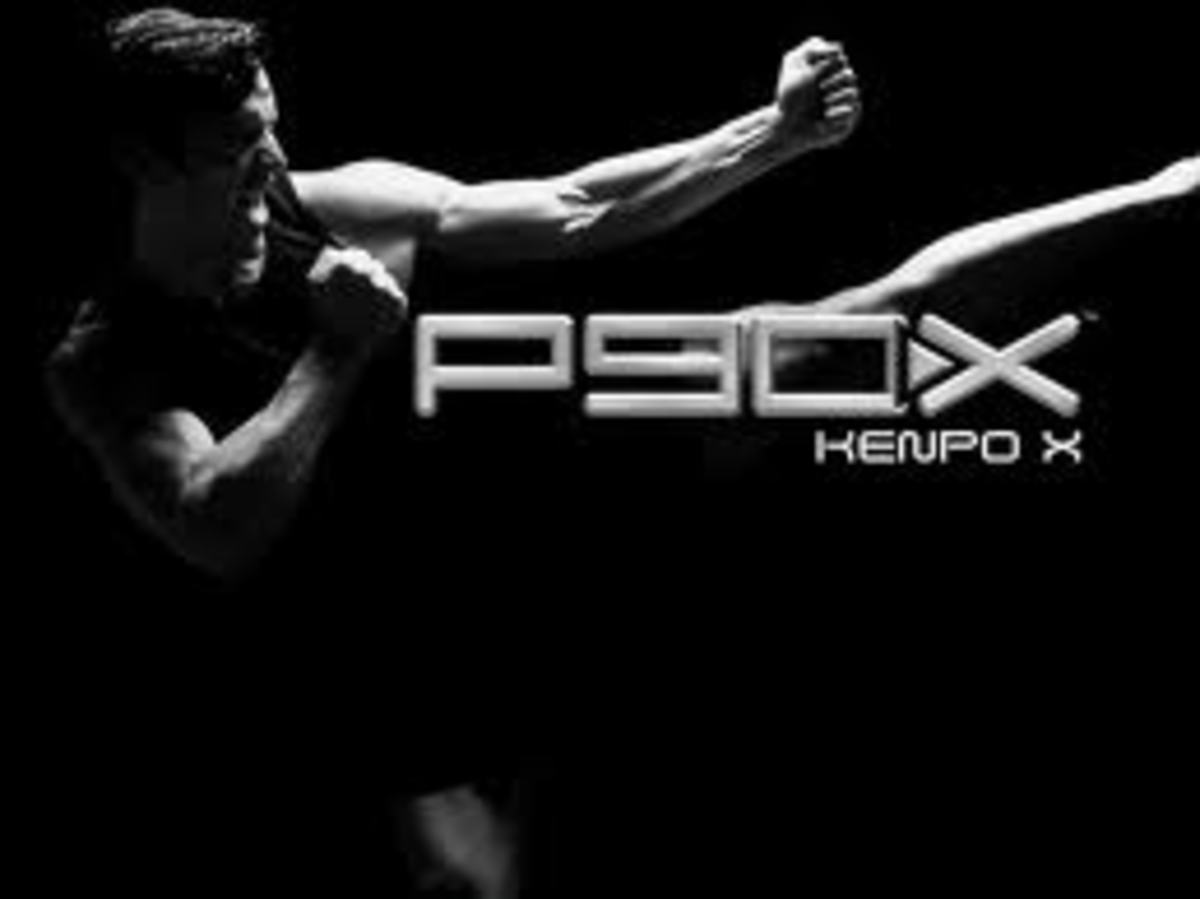 Official P90X: Kenpo X DVD cover.