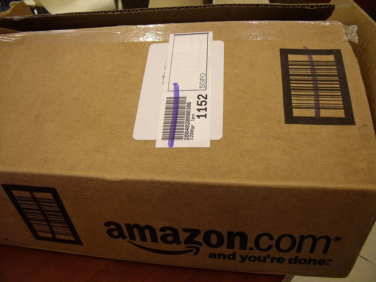 Amazon uses boxes similar to this for every single item that they ship. They use the popular airbag packing system with just about everything.