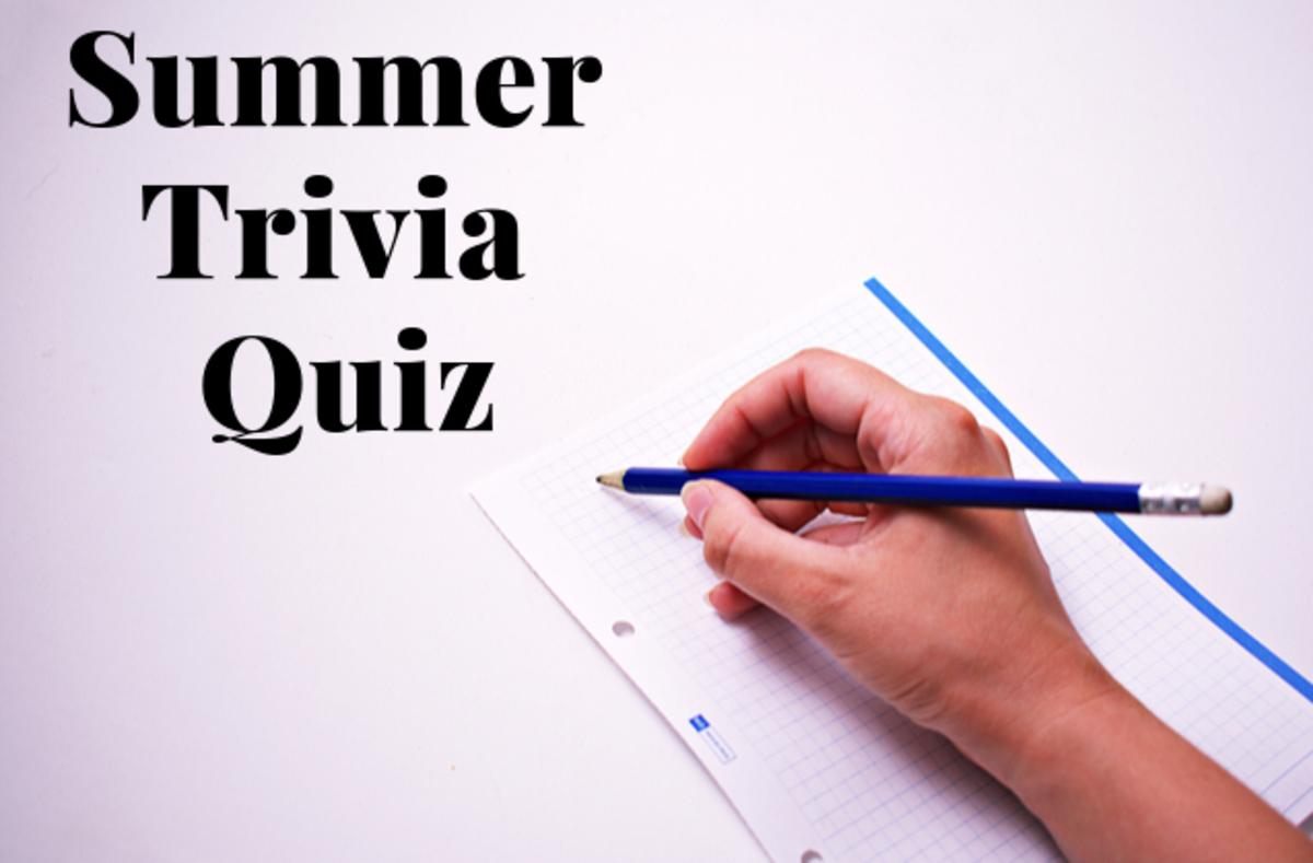 An All About Summer Trivia Quiz