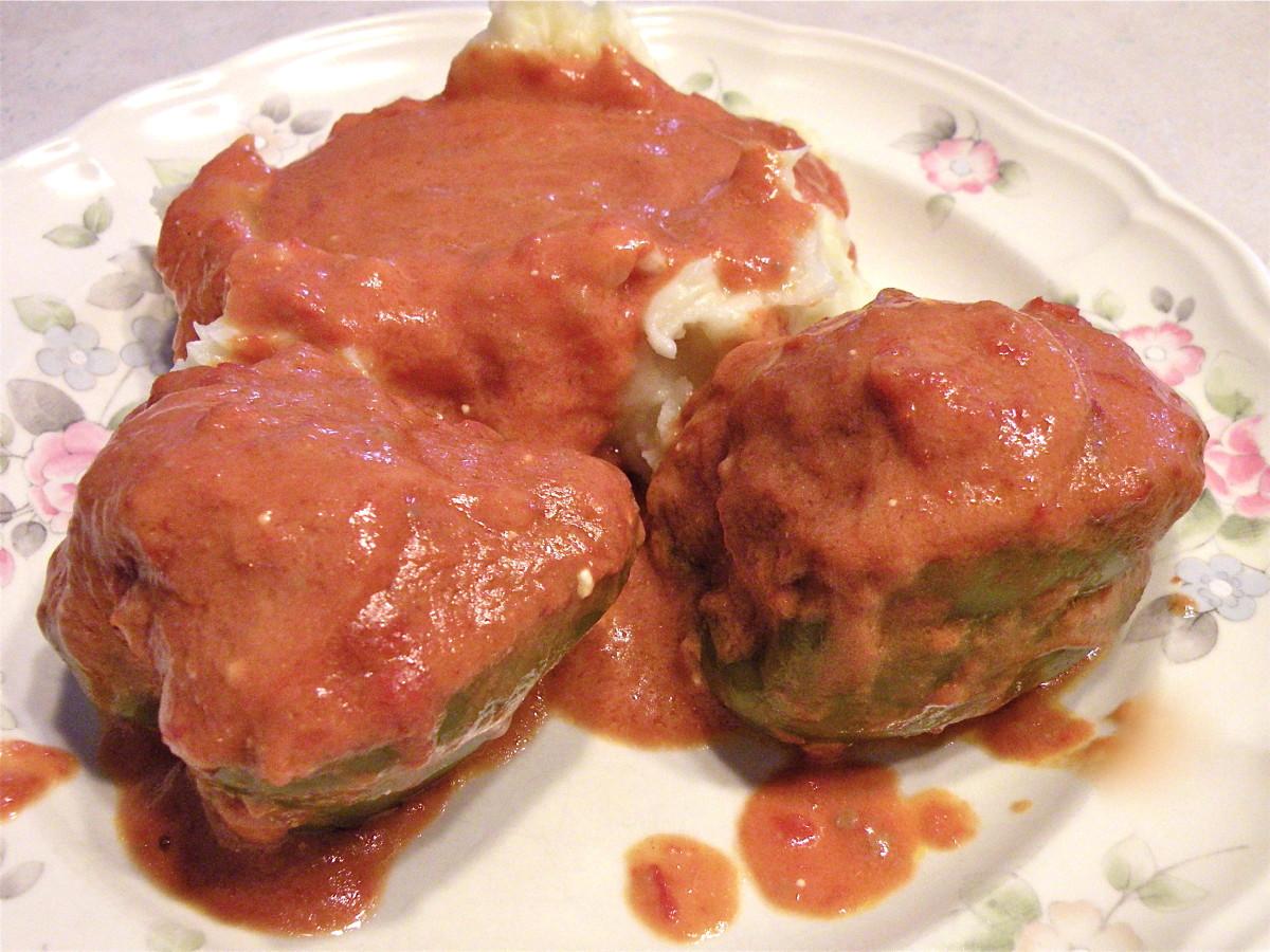 Hungarian Stuffed Peppers Recipe
