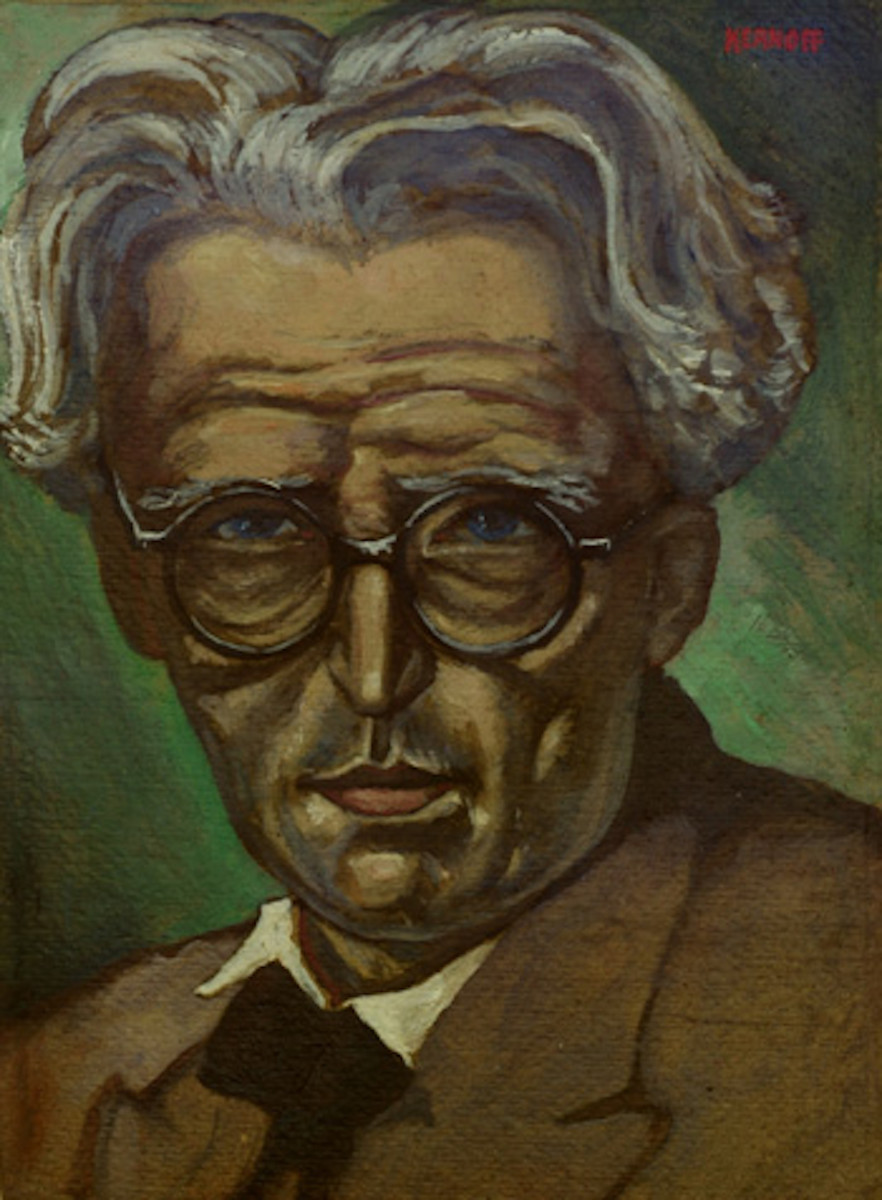 Portrait of William Butler Yeats