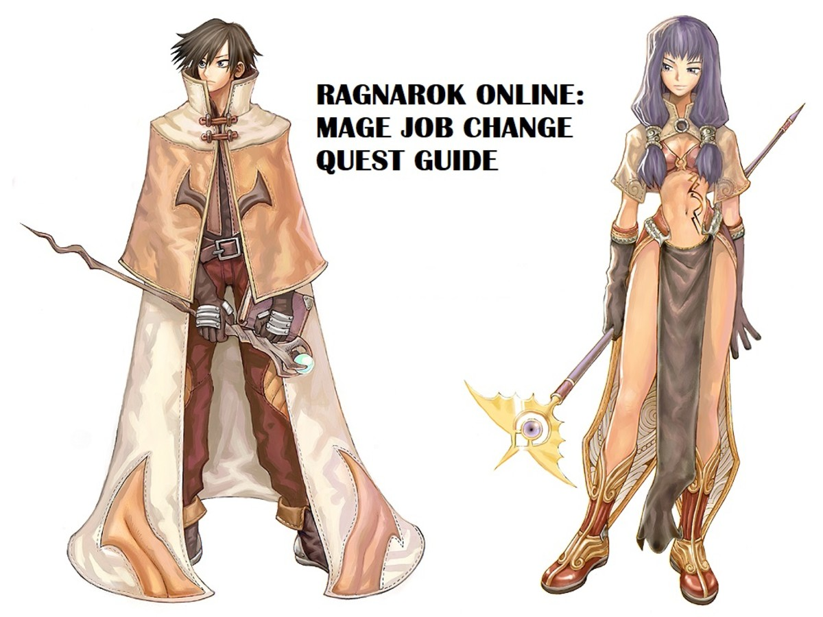 Ragnarok Online Mage Job Change Quest Guide