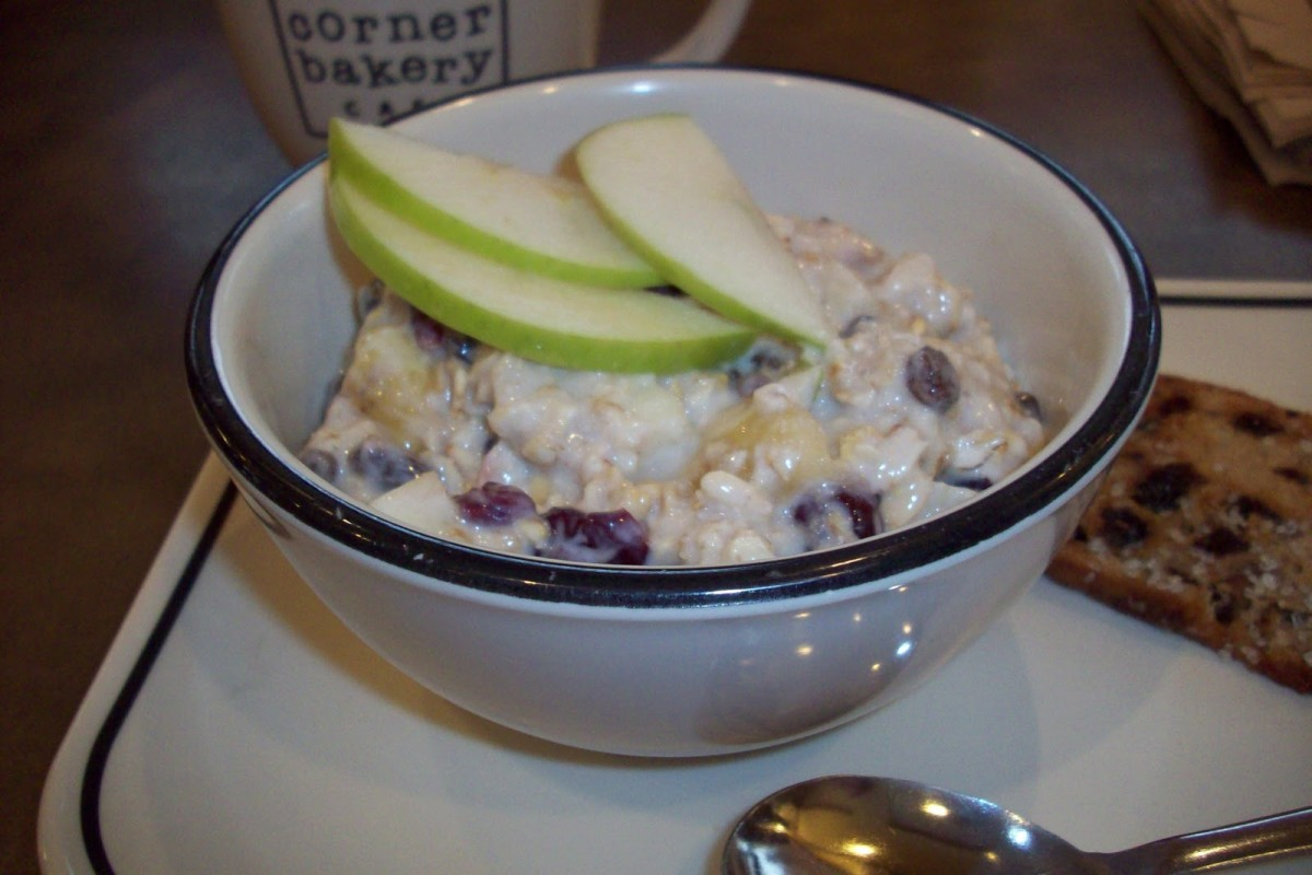 Chilled Swiss Oatmeal Recipe (a la Corner Bakery Cafe)
