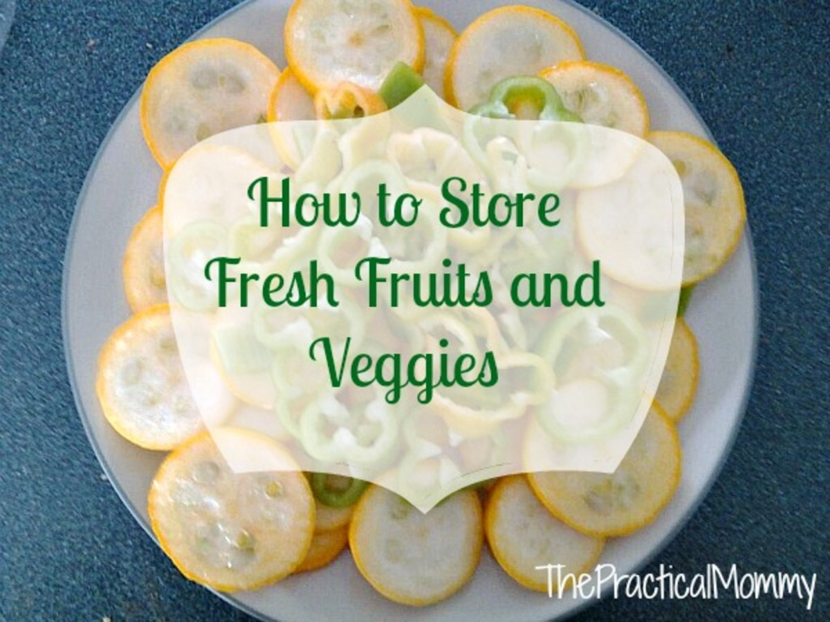 How to Store Fresh Fruits and Vegetables in the Refrigerator