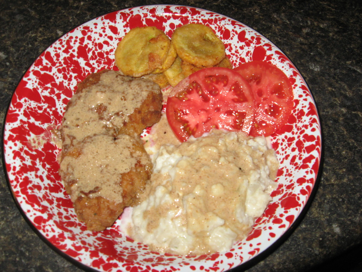 Diabetic Recipes: Country Fried Steak and Gravy