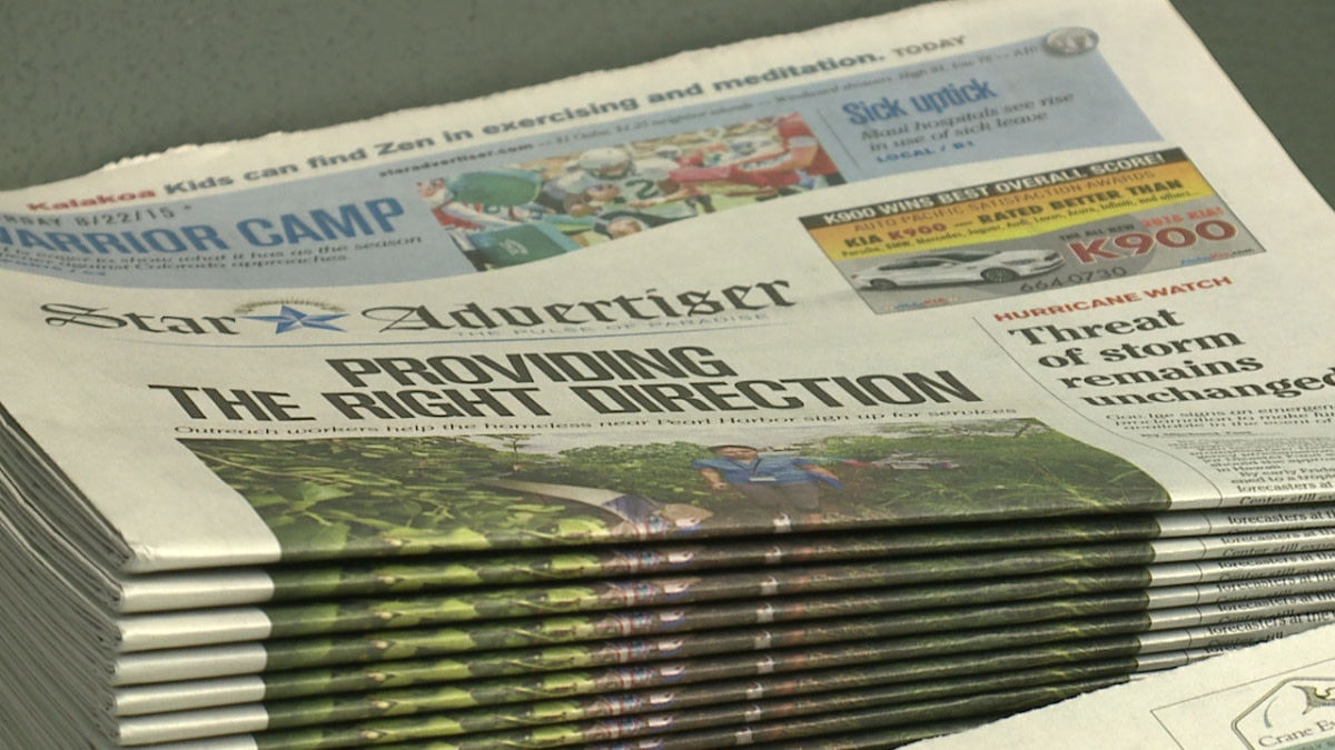 Hawaiʻi Newspapers - Unique on Each Island