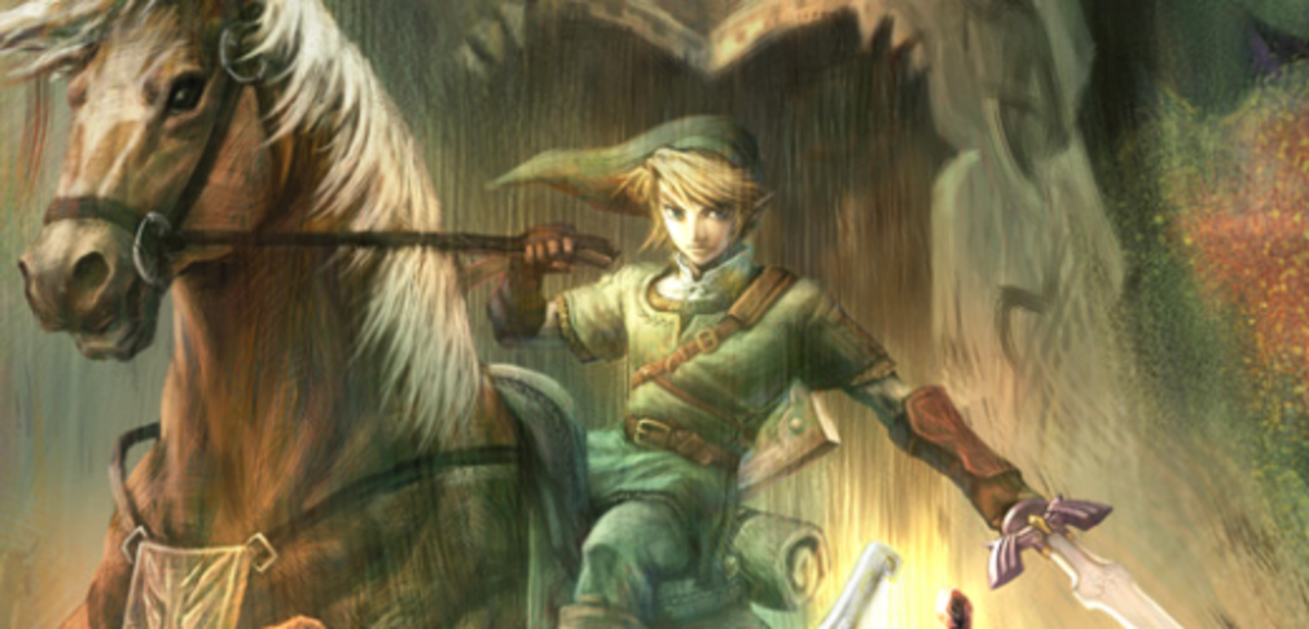 A picture of the Link from Twilight Princess.