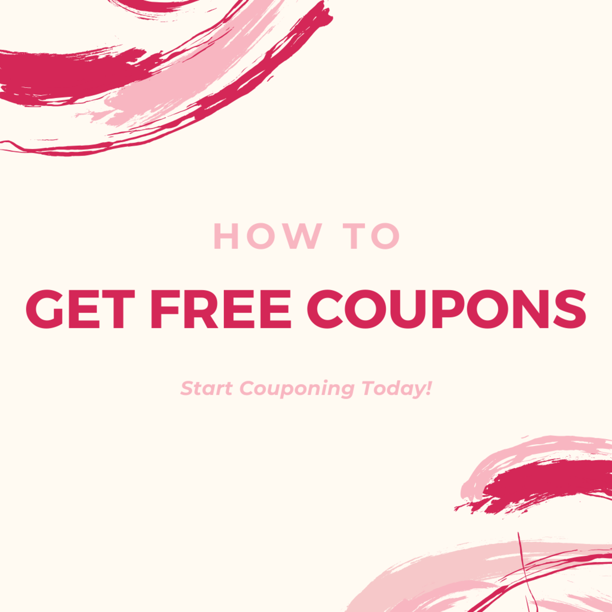 Learn how to get free coupons in the mail so you can start couponing today!