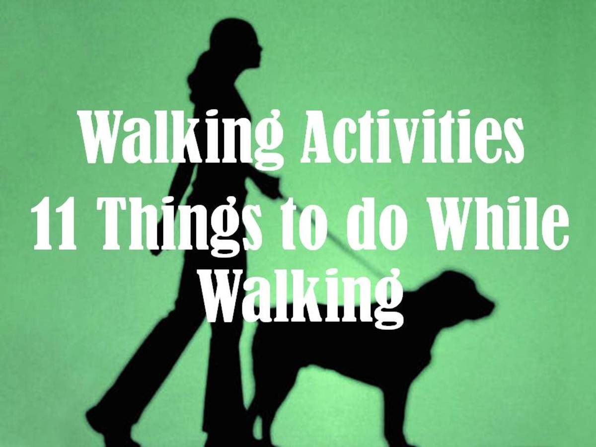 11 Activities to Do While Walking