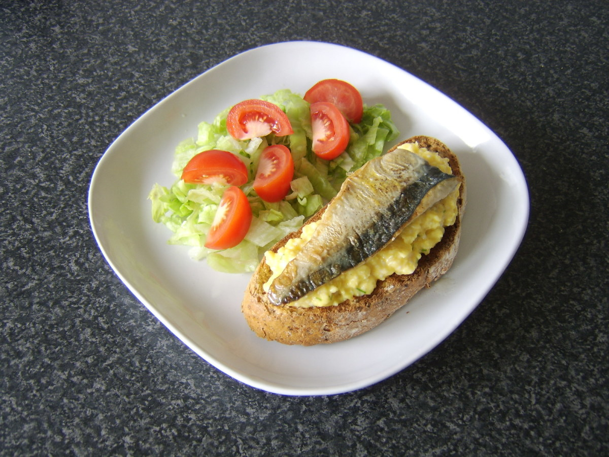 This pan fried mackerel fillet and scrambled eggs on toast is just one of the recipes you will find further down this page