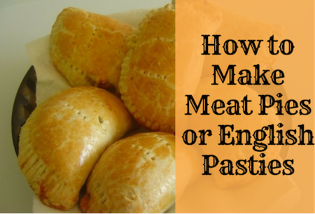 How to Make Meat Pies or English Pasties