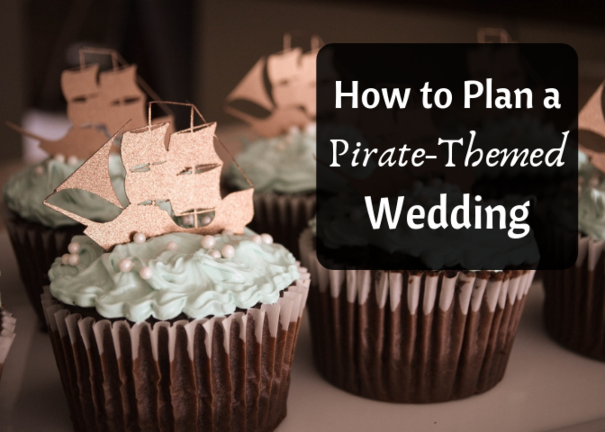 Get some tips on planning a pirate wedding, including venue ideas and thematic wedding favors.