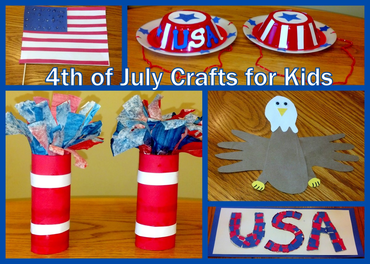 Celebrate the 4th of July with these fun patriotic craft ideas for kids!