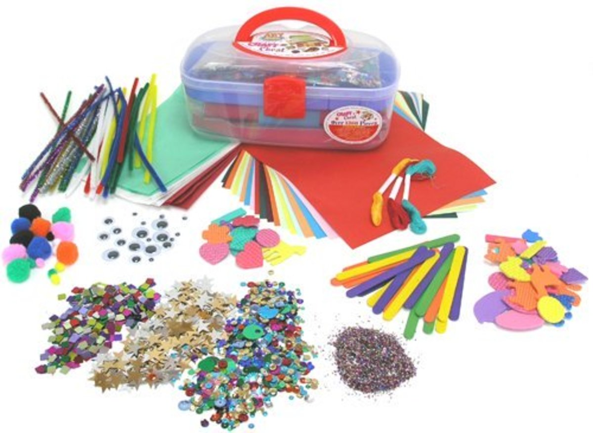 10 great websites to buy cheap craft materials online for Arts and crafts sets for kids