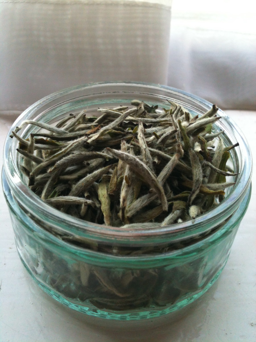 Baihao Yinzhen (Silver Needle): one of the most popular, healthy and delicious white teas.