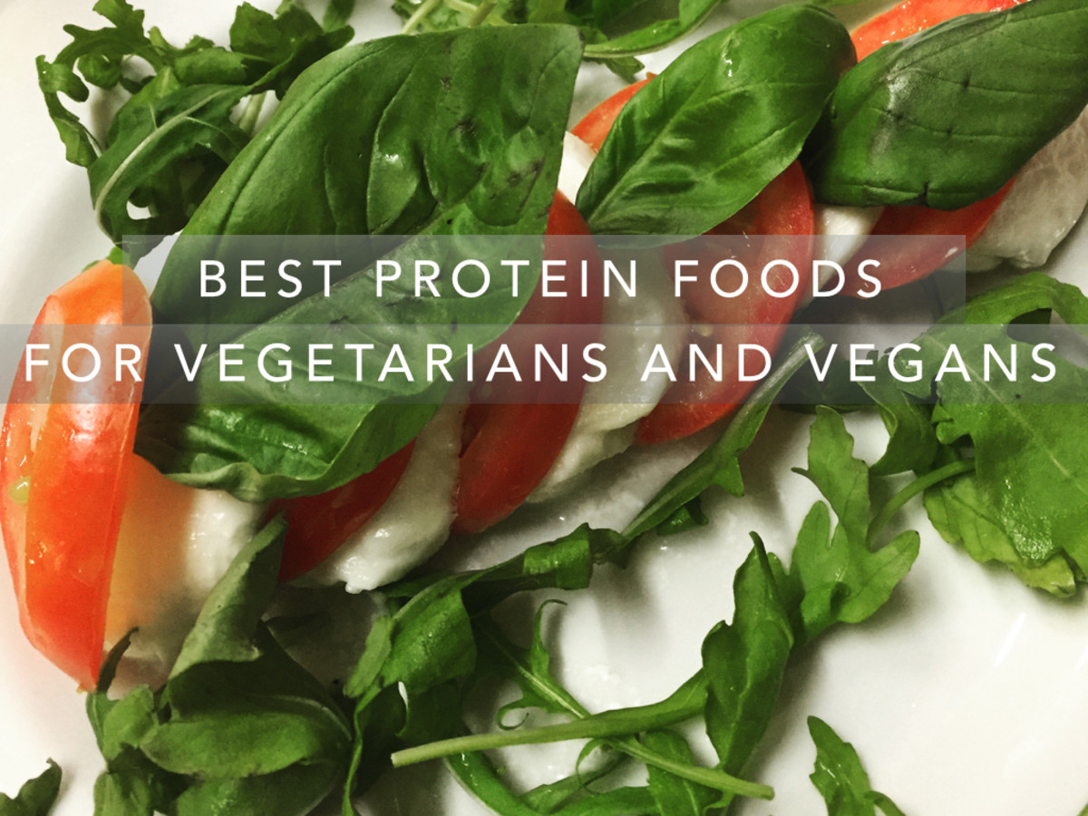 Protein rich foods for vegetarians include dairy, legumes, nuts, seeds and other plant foods. Provides a variety of protein rich foods and includes grams per serving.