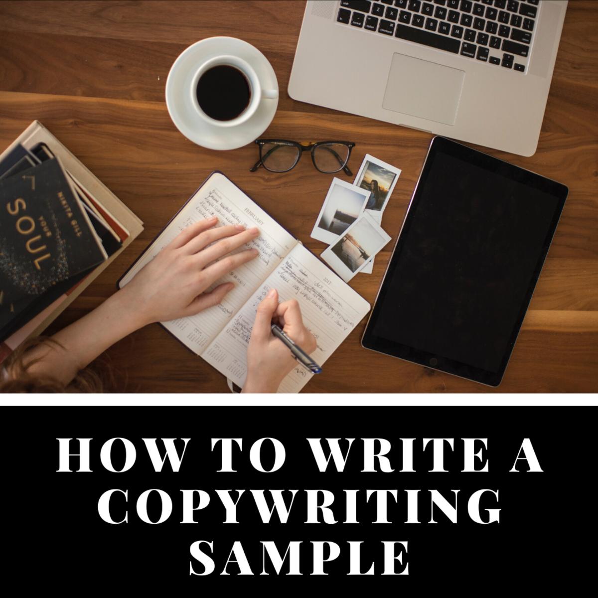 How to Write a Copywriting Sample