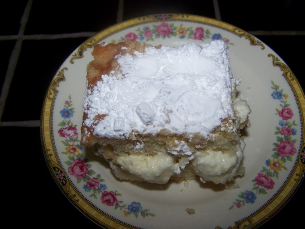 Easy Swedish Flop Cake Recipe.