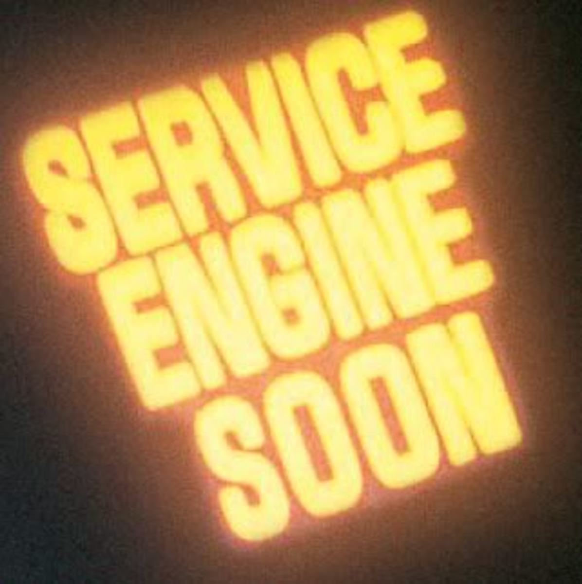 "The ""service engine soon"" light could just indicate a faulty gas cap."
