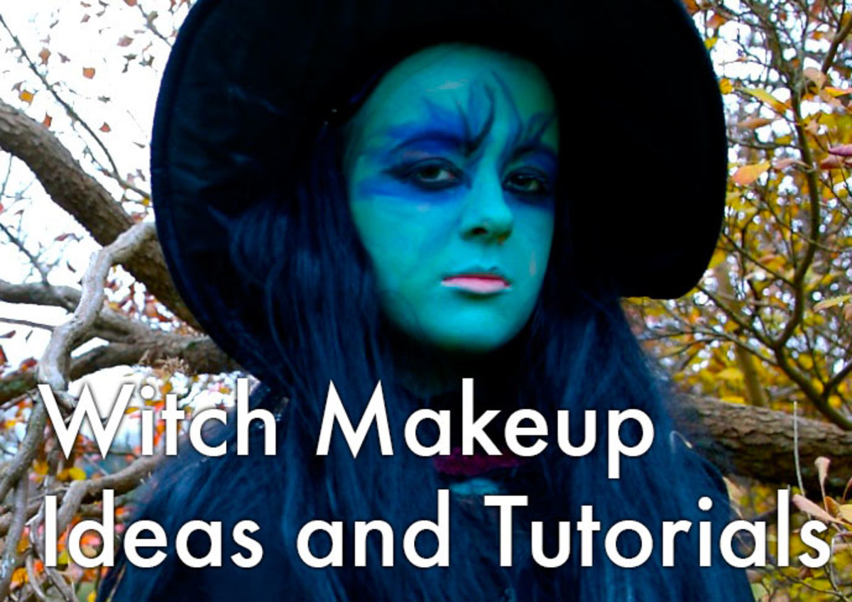 Witch makeup ideas and tutorials