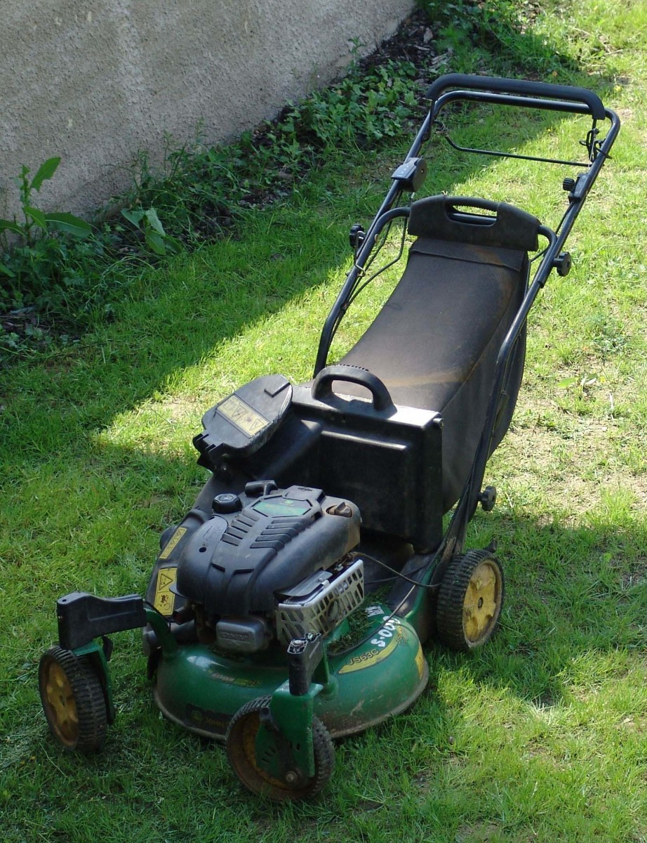 This mower won't perform as well without properly sharpened blades.