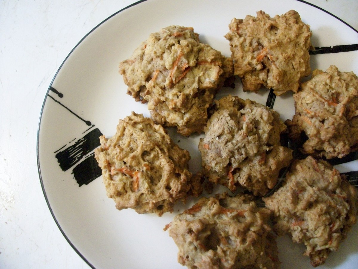 Low-Sugar Carrot Macaroons