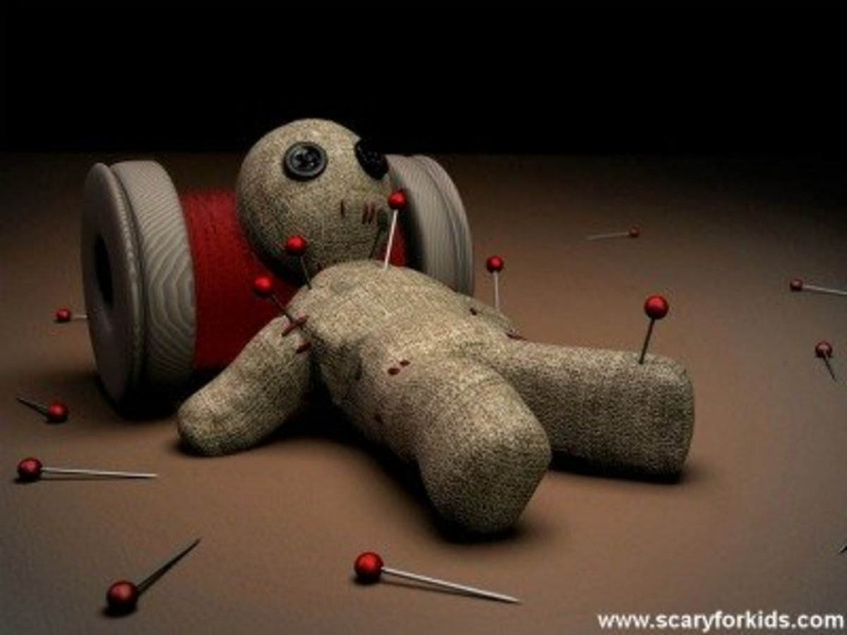Who hasn't wished they had a voodoo doll at some point or another?