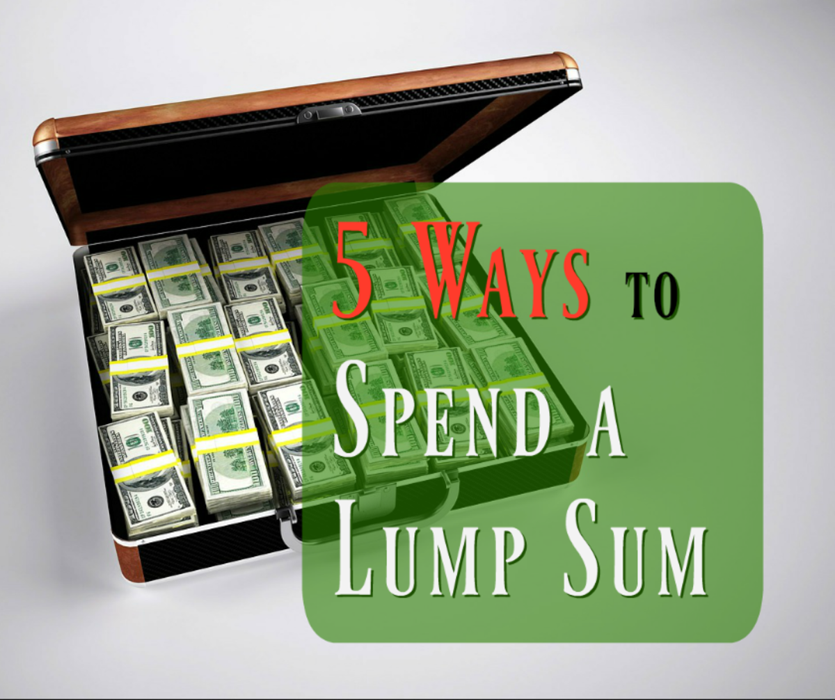 Best 5 Ways to Spend a Lump Sum of Money