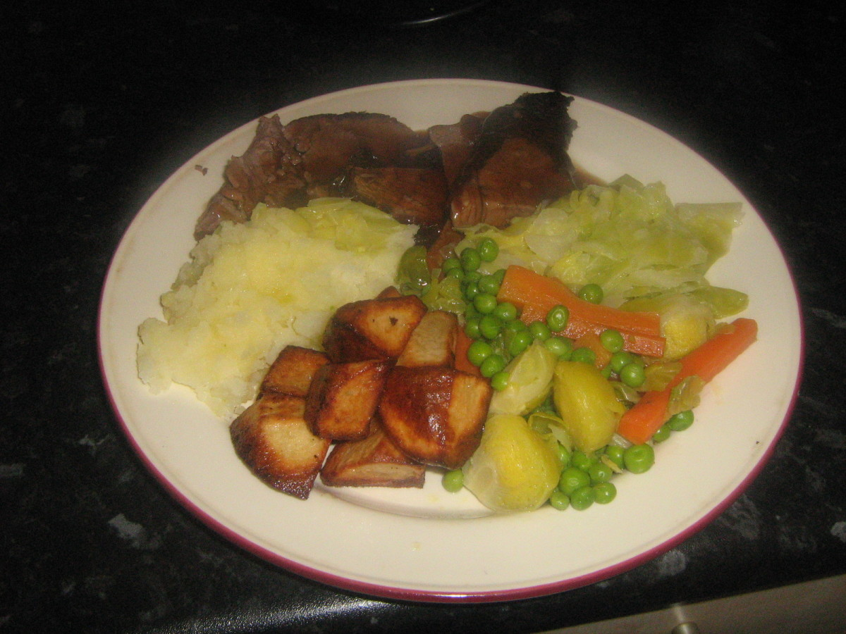 Roast Beef Dinner Recipe
