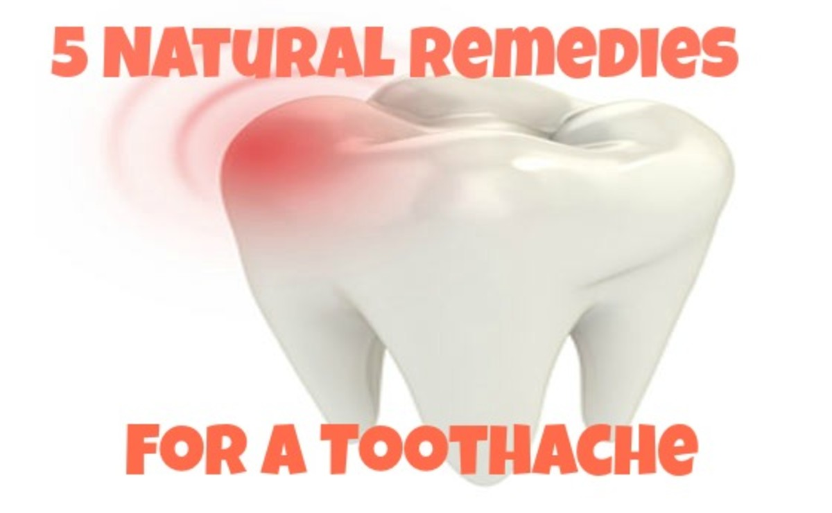How to Get Rid of a Tooth Ache - 5 Natural Remedies