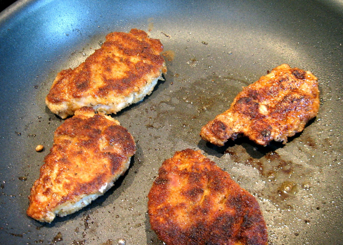 Pan Fried Pork Tenderloin Medallions - an Easy, Delicious and Inexpensive Entree
