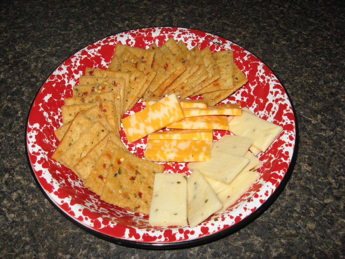 Firecracker Crackers Recipe and Other Cajun Party Food Ideas