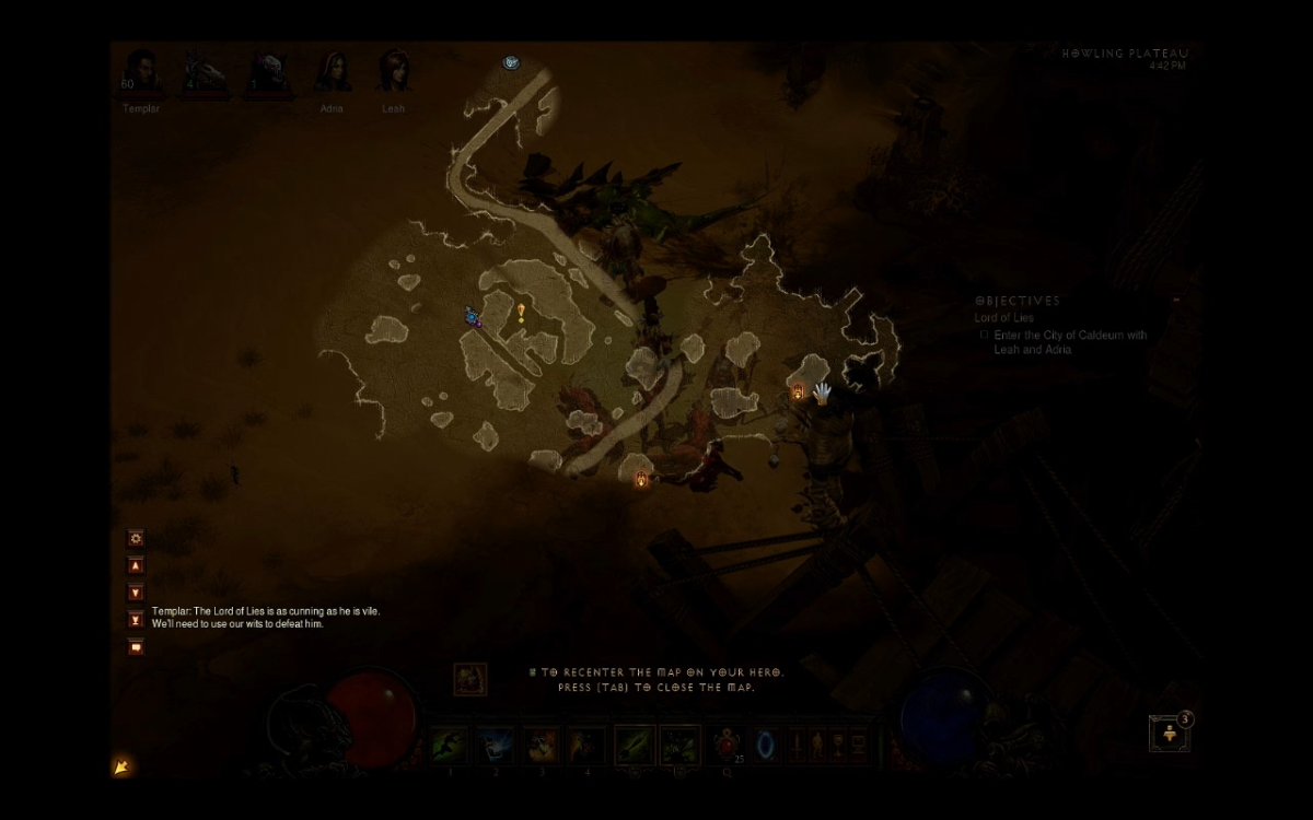 """Diablo 3""  Event Location Guide: A Miner's Gold [Howling Plateau]"
