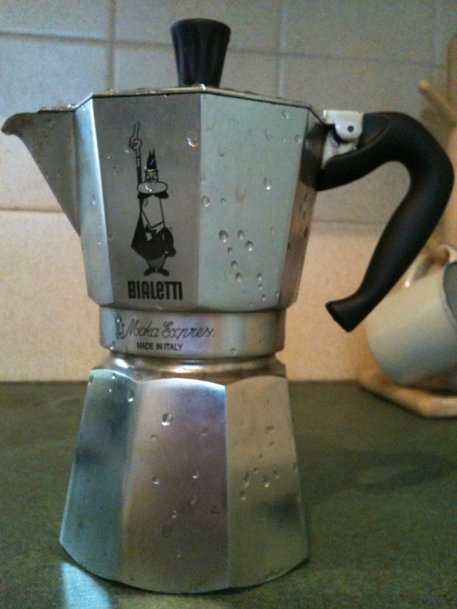 Coffee Maker Design Problem : Troubleshooting Problems with a Bialetti Stovetop Espresso Coffee Maker