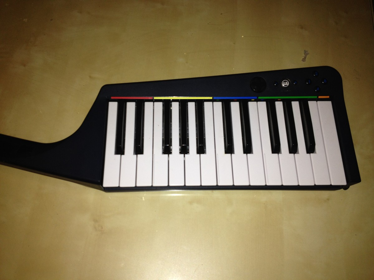 Using the Harmonix Rockband 3 Keyboard as a MIDI Controller for Home Recording