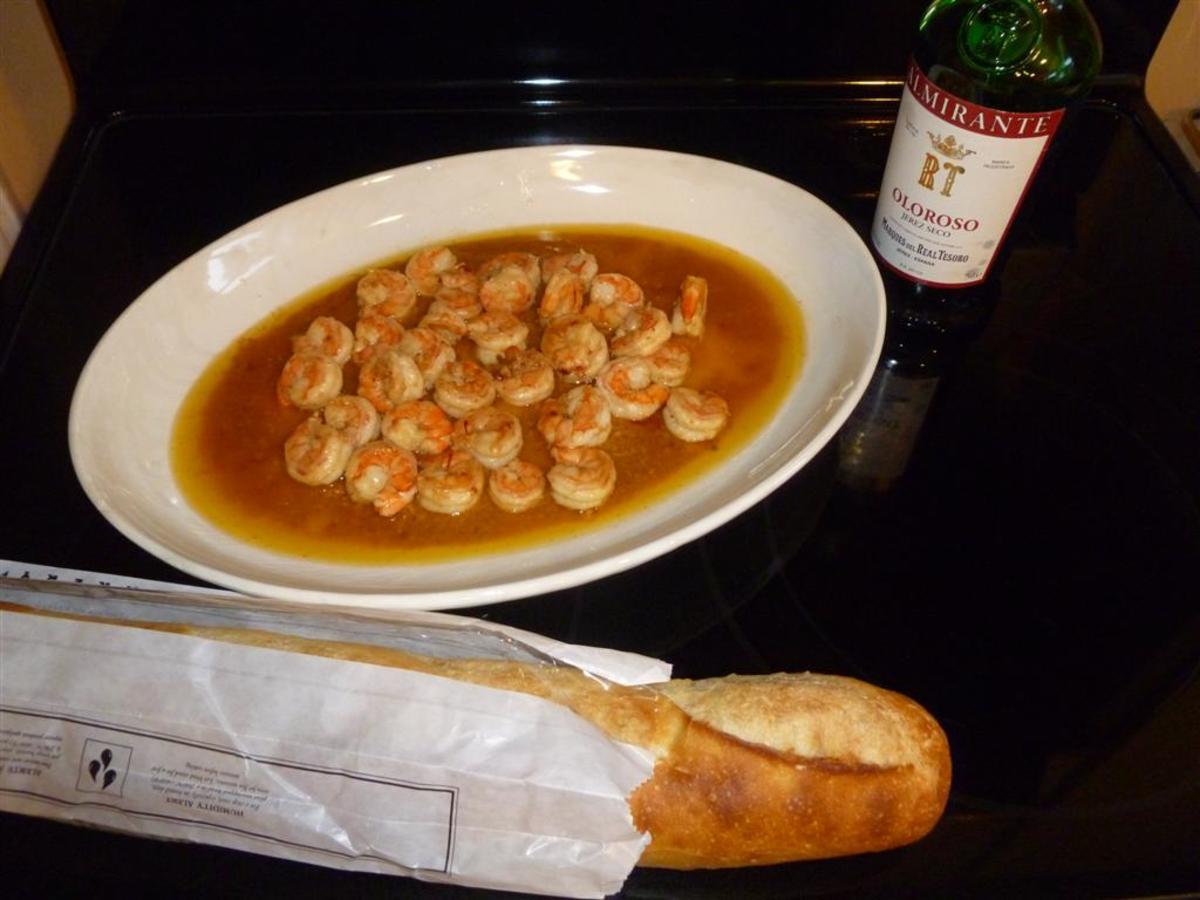 Gambas al Ajillo (Spicy Garlic Shrimp): A Spanish Tapa