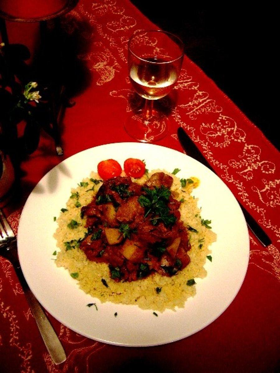 Chicken gizzard curry