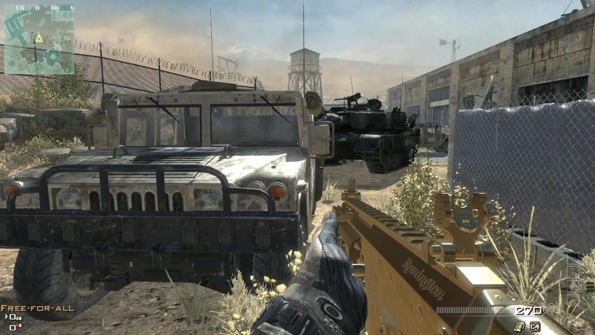 Modern Warfare 3 Map Dome Camping Spot 10.