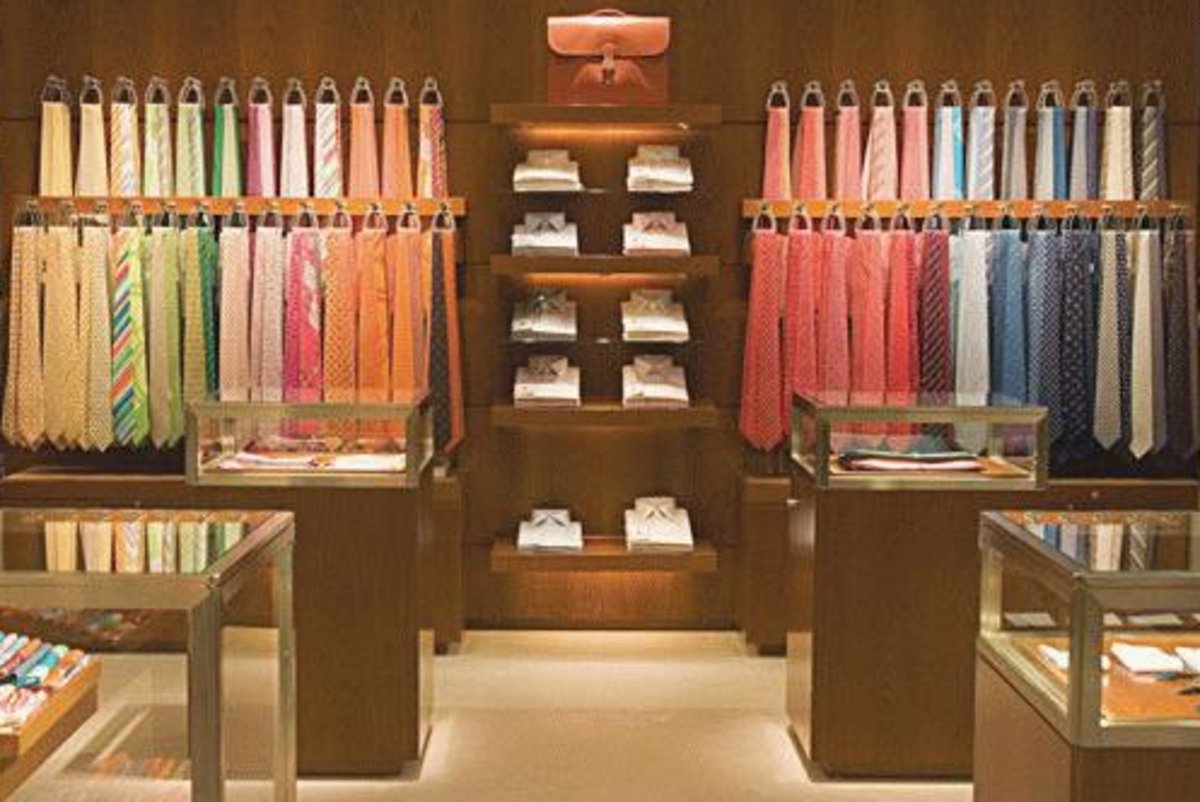 How to Spot a Fake Hermes Tie - Learn to Identify Counterfeit Luxury Silk Ties with a few Important Tips
