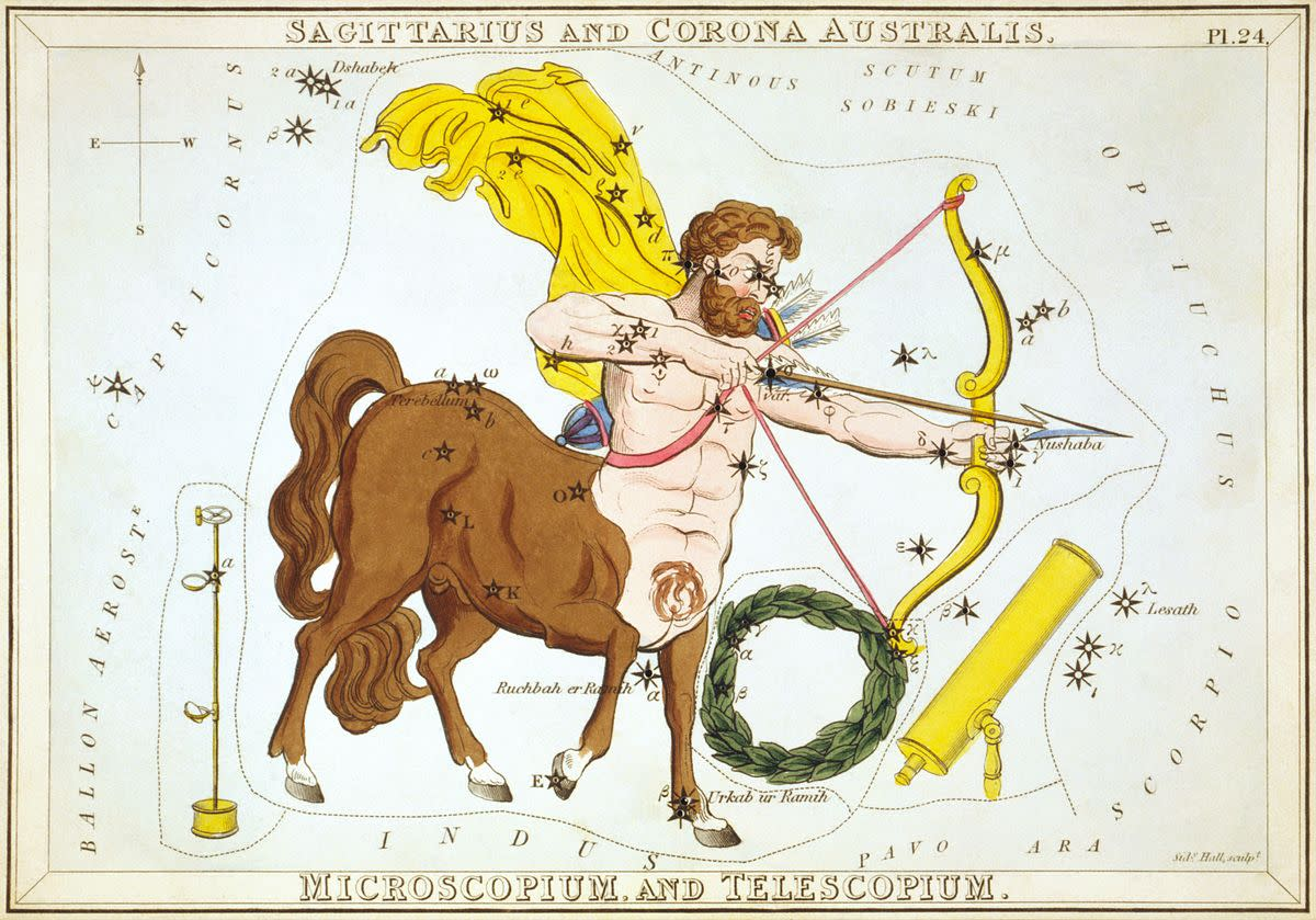 Sagittarius and Corona Australis