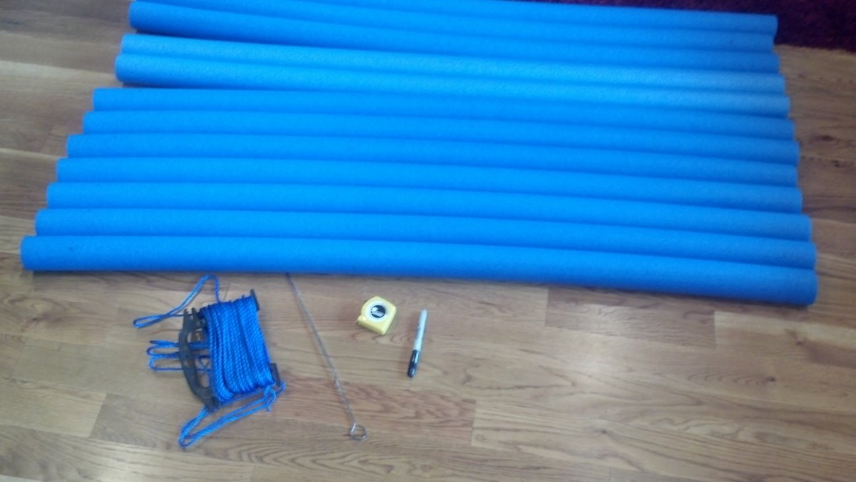 How To Make A Pirate Raft Using Pool Noodles Feltmagnet