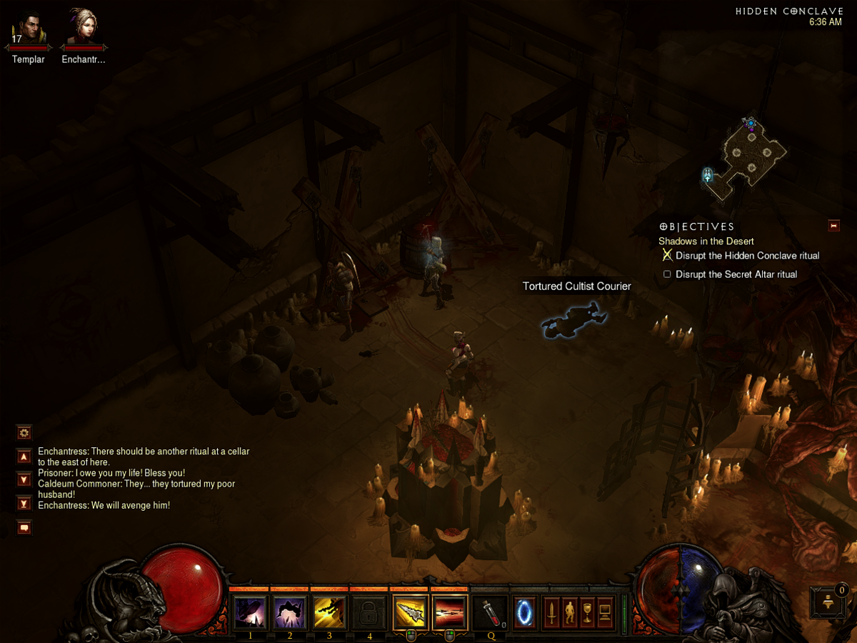 Eavesdropper - Act II Quest Lore Book Location Guide - Diablo 3