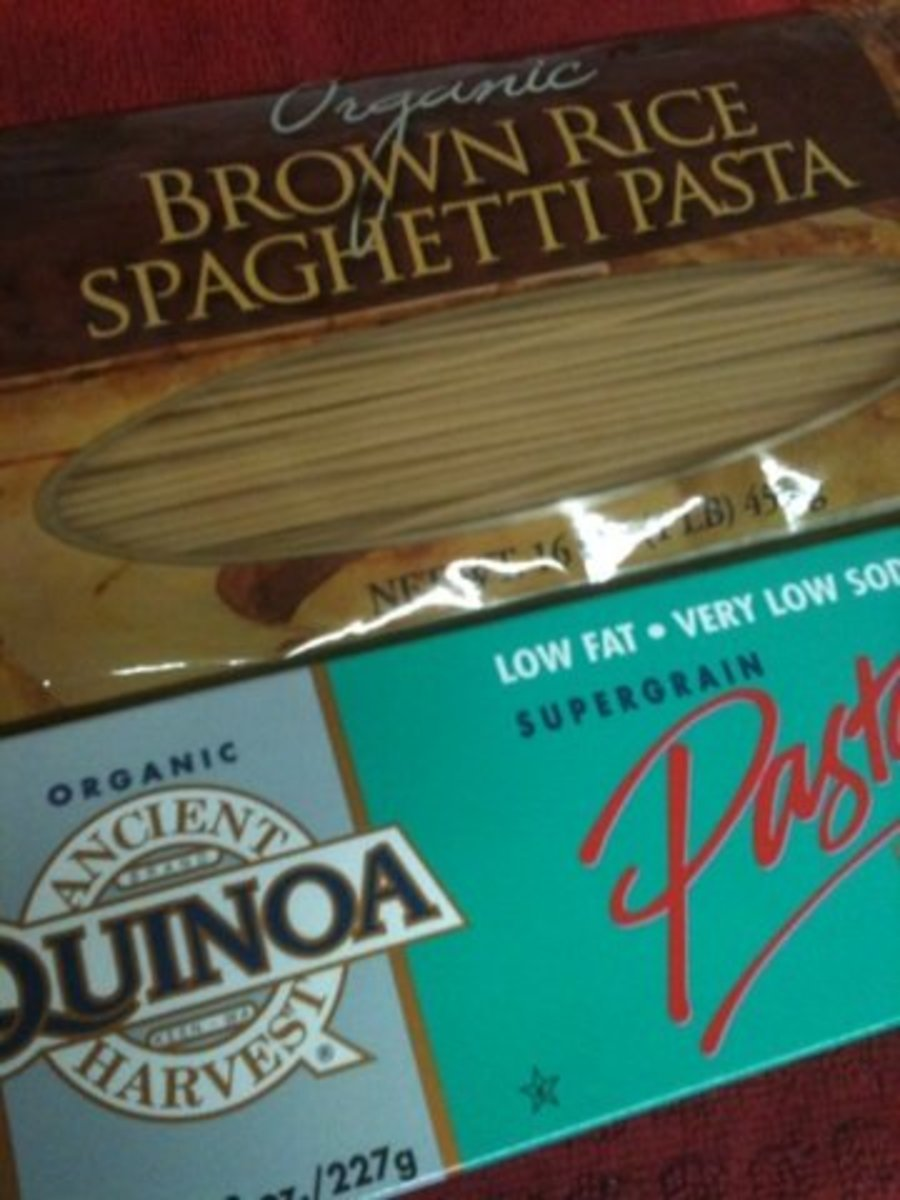 Brown Rice Pasta and Quinoa Pasta